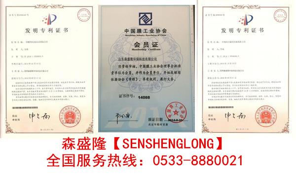 高硬水膜管阻垢剂SS820森盛隆用量少